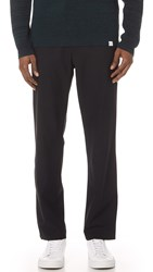 Second Layer Elastic Waist Trousers Black