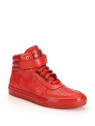 Android Epsilon Mid Top Leather Sneakers