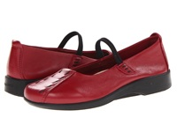 Arcopedico Shawna Burgundy Wash Women's Maryjane Shoes Red