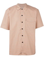 Ami Alexandre Mattiussi Short Sleeve Shirt Yellow Orange