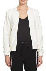 1.State Women's Quilted Bomber Jacket