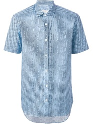 Pringle Of Scotland Checked Short Sleeve Shirt