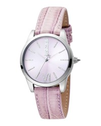 Just Cavalli 32Mm Relaxed Watch W Pink Leather Strap