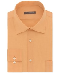 Geoffrey Beene Men's Fitted Wrinkle Free Bedford Cord Dress Shirt Yam
