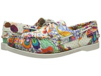 Sebago Dockside Grand Bazzar Print Women's Lace Up Casual Shoes Multi
