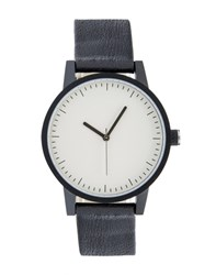 Simple Watch Kent Black White