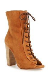 Kristin Cavallari Women's 'Lawless' Lace Up Bootie 4 Heel