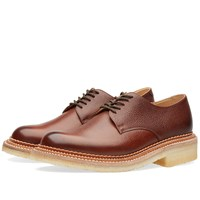 Grenson Nw2 Crepe Sole Derby Shoe Brown
