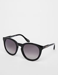 Vivienne Westwood Round Acetate Glasses Black