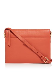 Maison De Nimes Nessa Leather Crossbody Orange