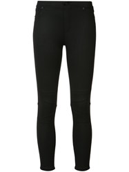 Atm Anthony Thomas Melillo Super Skinny Cropped Trousers Black