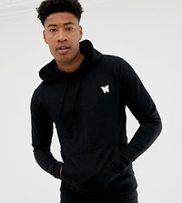 Good For Nothing Hoodie In Black With Chest Logo Exclusive To Asos