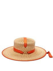 Lola Hats Zorro Straw Hat Orange