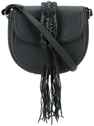 Altuzarra Ghianda Saddle Crossbody Bag Black
