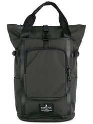 Makavelic Two Way Backpack Polyester Grey