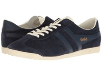 Gola Bullet Suede Navy Navy Off White Men's Shoes