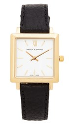 Larsson And Jennings Norse Watch Gold White Black