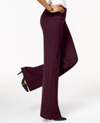 Styleandco. Style Co. Stretch Wide Leg Pants Only At Macy's Deep Cabernet