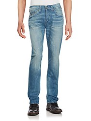 True Religion Rocco Skinny Fit Faded Jeans Young