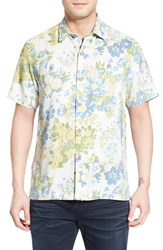 Men's Tommy Bahama 'Yarra Valley' Regular Fit Floral Silk Camp Shirt Continental