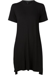 Mads Dinesen Backless T Shirt Black