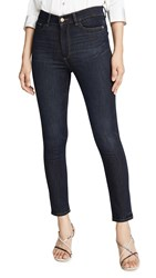 Dl1961 Farrow Ankle High Rise Skinny Jeans Willoughby