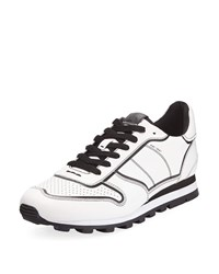 Coach Edgepaint C118 Leather Runner Sneakers White