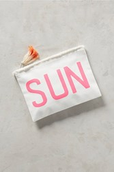 Anthropologie Sun Pouch Pink