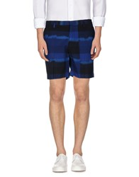 Marc By Marc Jacobs Trousers Bermuda Shorts Men Dark Blue