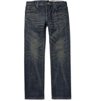 Neighborhood Lim Fit Wahed Denim Jean Dark Denim