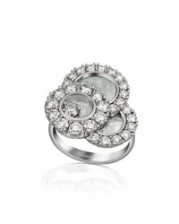 Chopard Happy Dreams Mother Of Pearl Ring With Diamonds