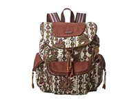 Sakroots Artist Circle Flap Backpack Ivory Spirit Desert Backpack Bags Multi