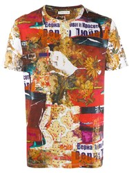 Etro Graphic T Shirt Red