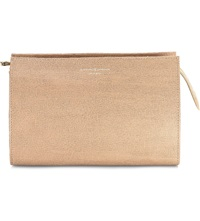 Aspinal Of London Medium Saffiano Leather Cosmetic Case Deer