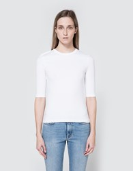Acne Studios Idra C Str In Optic White