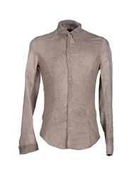 Dioniso Shirts Shirts Men Dove Grey