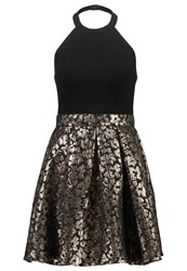 Laona Cocktail Dress Party Dress Black Gold