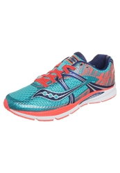 Saucony Fastwitch 6 Lightweight Running Shoes Blue Pink