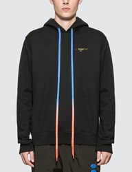 Off White Acrylic Arrows Slim Hoodie Black