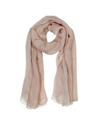 Laura Biagiotti Double Chiffon Silk Stole Powder