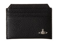 Vivienne Westwood Leather Card Holder Black Credit Card Wallet