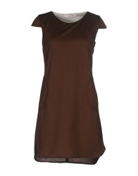 Jucca Short Dresses Dark Brown