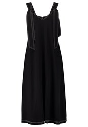 Warehouse Summer Dress Black