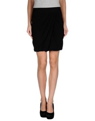 Vdp Collection Knee Length Skirts Black