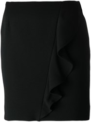 Iro Ruffle Detail Skirt Black