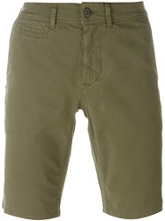 Woolrich Slim Fit Chino Shorts Green