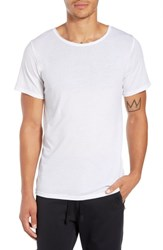 Alo Yoga Ultimate T Shirt Solid White Triblend