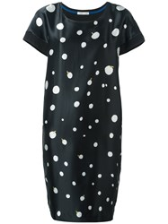 Tsumori Chisato Circle Print Dress Black