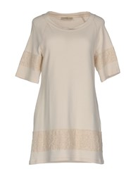 Just For You Short Dresses Beige