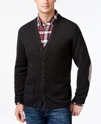 Tasso Elba V Neck Cardigan Only At Macy's Charcoal